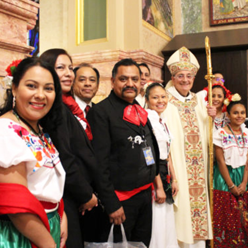 7 lay people and 3 Clergy