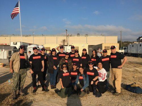 DeSales volunteers