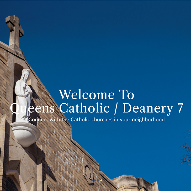 Welcom to Queens Catholic / Deanery 7 Page