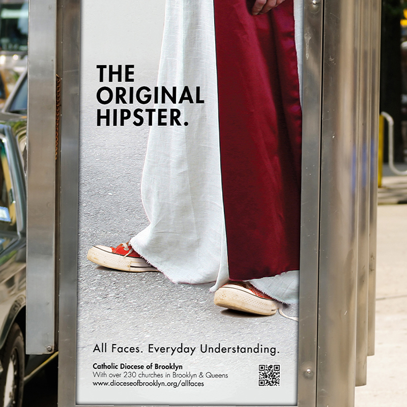 Jesus' feet with sneakers on ....the original hipster