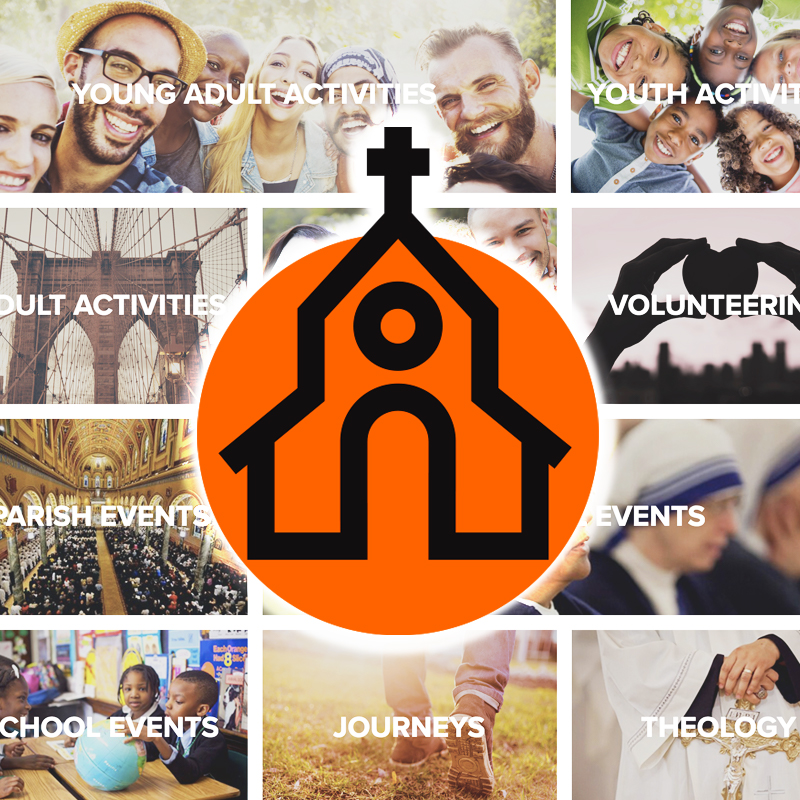 Church activity page