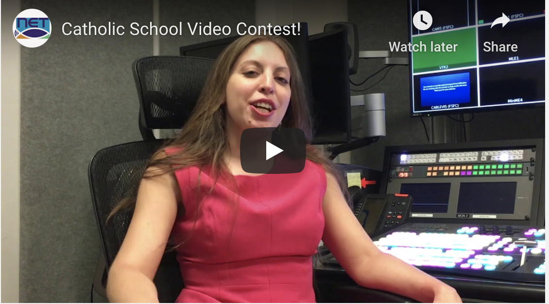 Screen Shot for Catholic School Video Contest
