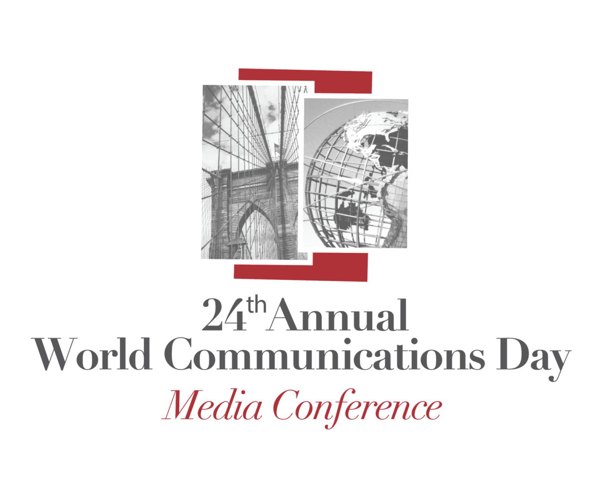 3rd Annual World Communications Day Logo
