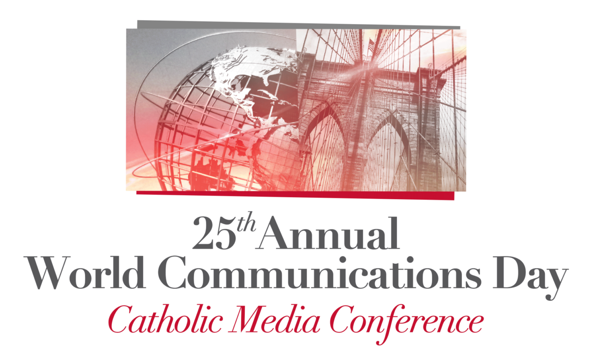 25th Annual World Communications Day Logo
