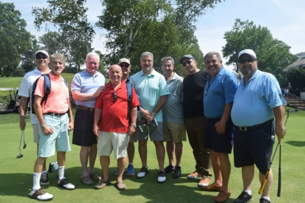 golfers at 2019 Bishop DiMarzio Golf Classic