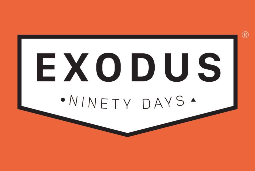 Exodus-Ninety Days logo