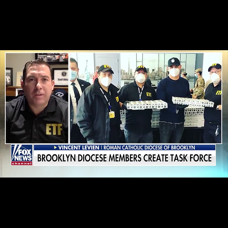 Vincent LeVien, the Director of External Affairs for DeSales Media, and the ETF were featured on Fox and Friends.