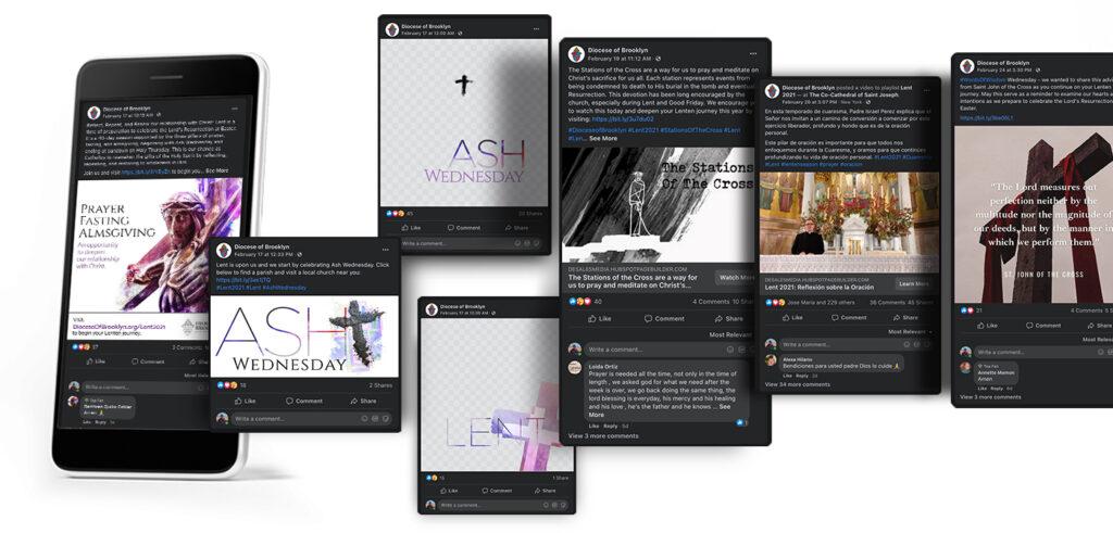 Lent 2021 social media campaign