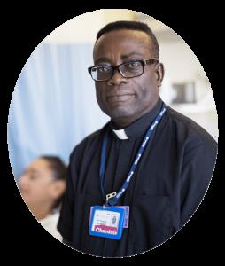 Fr. Francis hospital chaplain